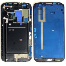 10pcs lot For Samsung Galaxy Note 2 N7105 i317 T889 Front Housing LCD Plate Middle Frame