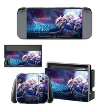 Langrisser Skin Sticker vinilo for NintendoSwitch stickers skins for Nintendo Nintendo Switch NS Console and Joy-Con Controllers