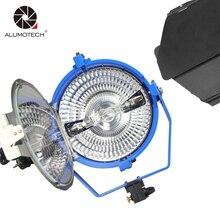 ALUMOTECH Compact 2000 W de Luz Tungstênio Com Proteção UV Lâmpada Globo de Vidro + 220 V + Barndoor Para Estúdio de Vídeo fotografia