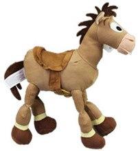 Original Toy Story Bullseye Horse Cute Stuff Plush Toy Doll Baby Kids Birthday Gift 23cm
