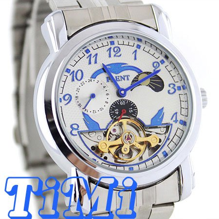 где купить  wholesale True Tourbilon mens stainless steel wrist watch 24H freeship  по лучшей цене
