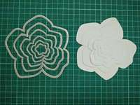 Irregular Flowers Metal Die Cutting Scrapbooking Embossing Dies Cut Stencils Decorative Cards DIY Album Card Paper