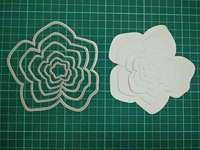 Irregular Flowers Metal Die Cutting Scrapbooking Embossing Dies Cut Stencils Decorative Cards DIY Album Card Paper