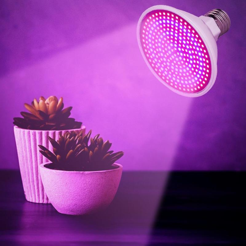LED Grow Lights Phyto Lamp E27 60/126/200/260LED Grow Lamp For Indoor Vegetable Flowers Seedling Plant Growth Dropshiping