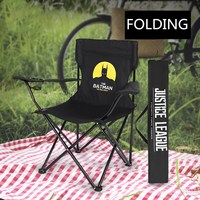 Portable Folding Fishing Chair Camping Chair Seat 600D Oxford Cloth Waterproof Metal Armchair For Outdoor Picnic Beach Chaise