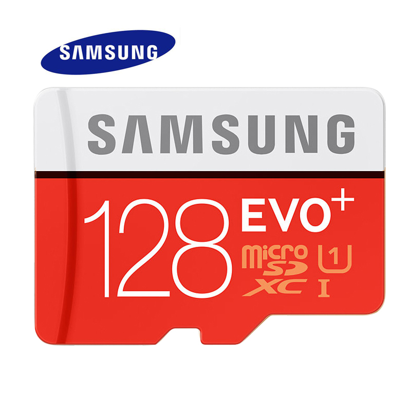 Prix pour Samsung carte mémoire 128g sdhc sdxc tf80m grade evo + microsd classe 10 micro sd c10 uhs tf trans flash 128 GB