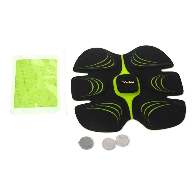 EMS Électrique Corps de Perte de Poids Minceur Massager Puce ABS Fit Exercice D'entraînement Abdominale Formateur Musculaire Fitness Accessoires