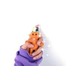 Пластиковая коробка милый Тролль кукла зажигалка держатель игрушки ПВХ Зажигалка чехол подарок для мужчин женщин Зажигалка Оболочка Чехол
