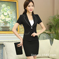 Skirt Suit Regular Suit Button Blazer With Special Offer Rushed 2016 Sleeve Clothes High-end Ol Business Attire Ladies