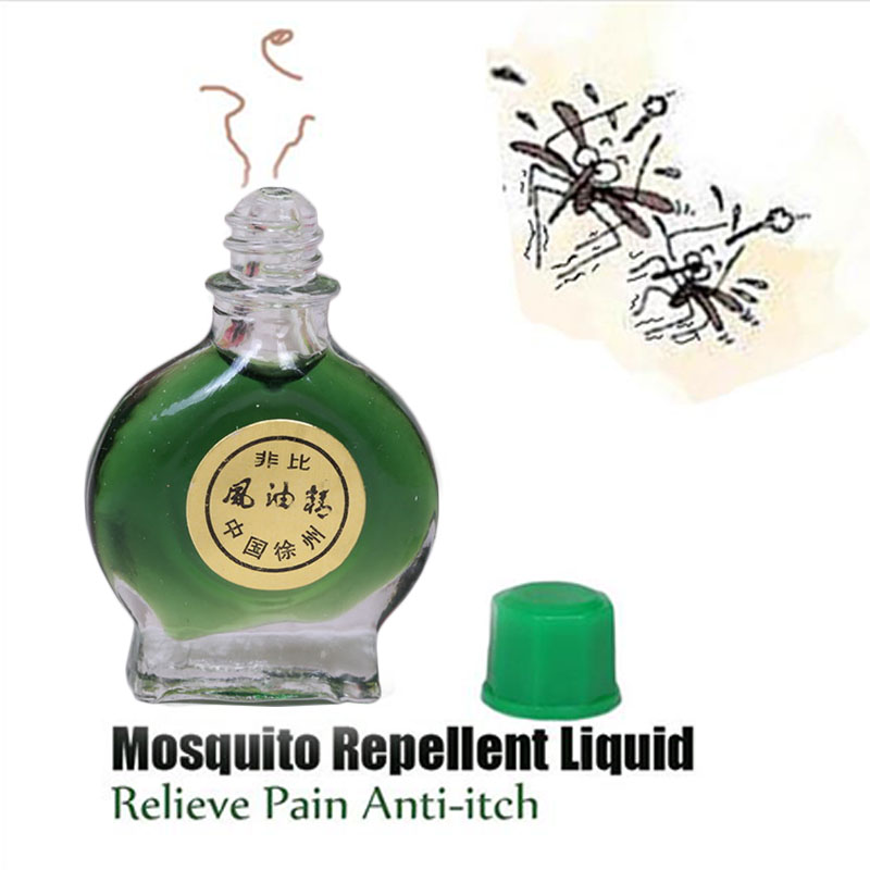 Fengyoujing Anti-itch Mosquito Bite Itching,Mosquito Repellent Liquid ,Essential Balm Cool And Refreshing Oil Pain Relieve