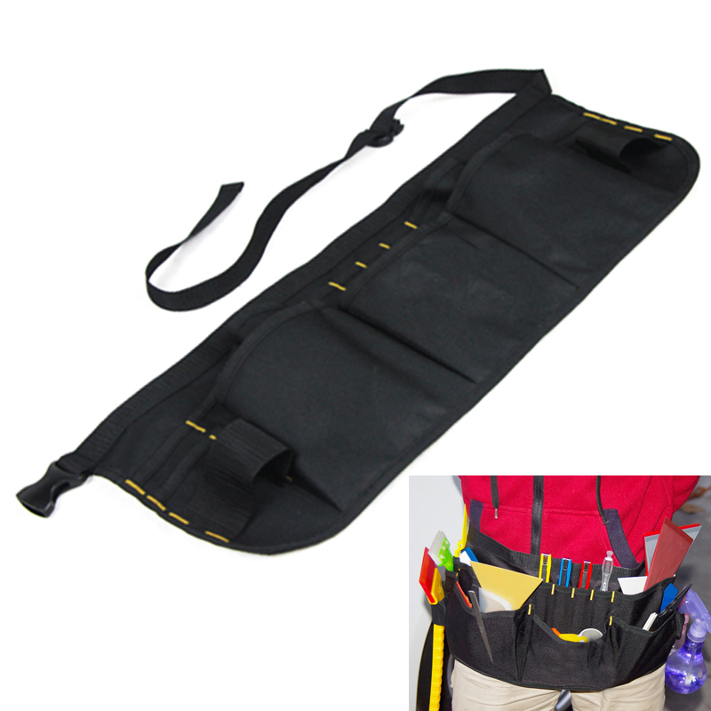 EHDIS Vinyl Wrap Tools Bags Professional Foil Window Tint Bag High Quality Oxford Tool Belt Bag 3M Tool Bag Holder Pockets CN033 new high level large professional tool bag multifunctional electrician tool bag waterproof oxford tools kit pockets repair tool
