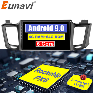 Eunavi 4G+32G Android 9.0 4G Car Radio M
