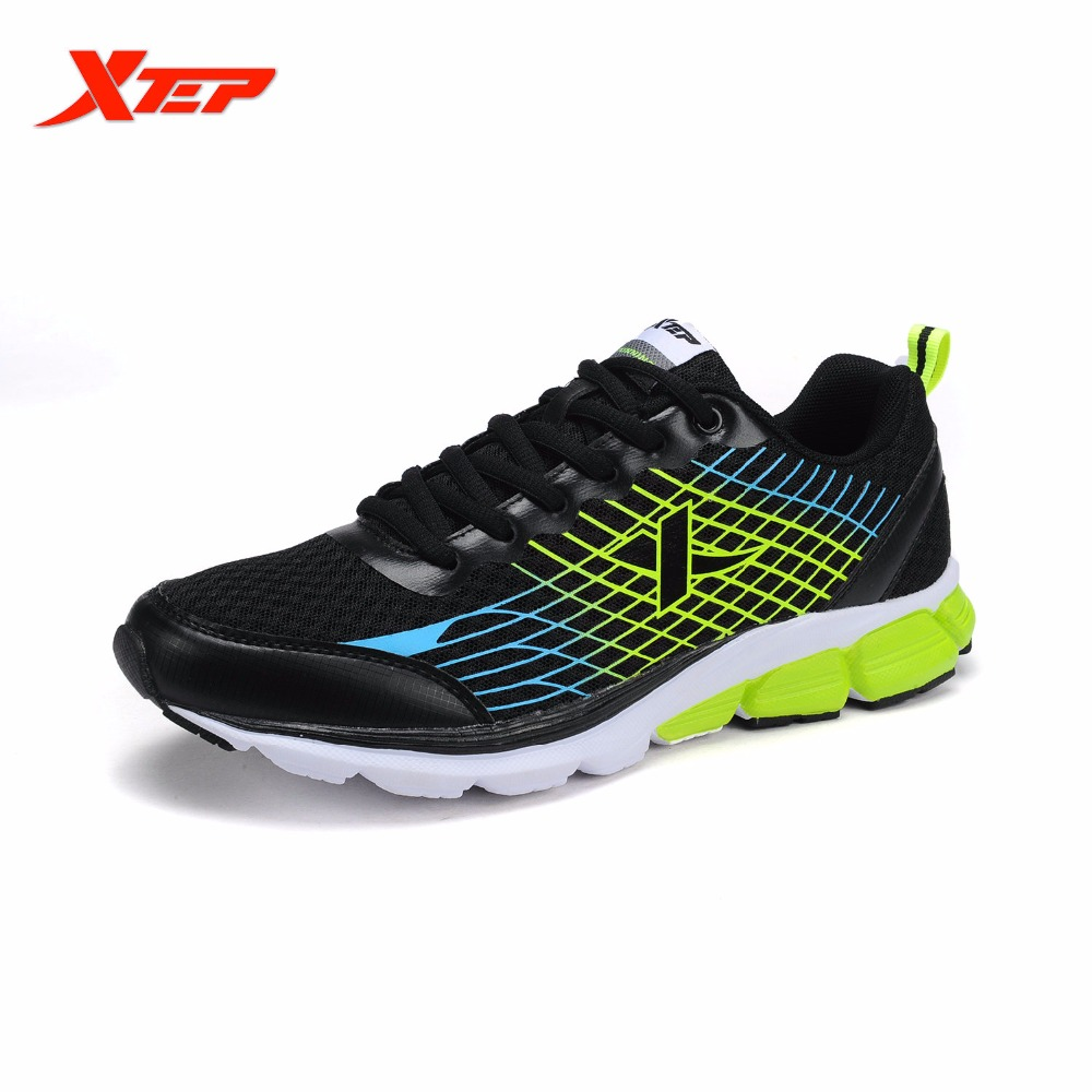 XTEP Brand New Mens Trainers Professional Running Shoes Outdoor Traveling Sneakers Athletic Runner Sports Shoes 984119119512 2017brand sport mesh men running shoes athletic sneakers air breath increased within zapatillas deportivas trainers couple shoes