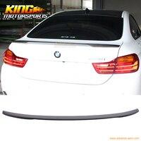 Для 15 16 BMW F36 4 серии 4 двери Gran Coupe V Стиль спойлер багажника углеродного Волокно CF