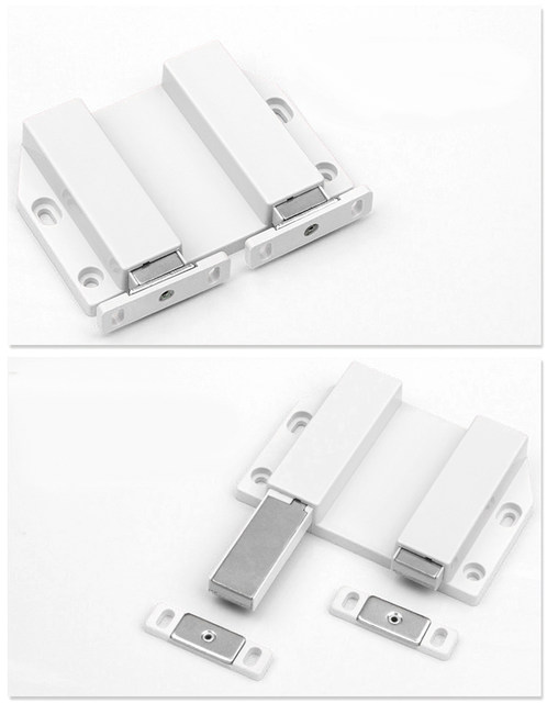 Online Shop 2pcs Double Magnetic Catch Latch For Cabinet Cupboard