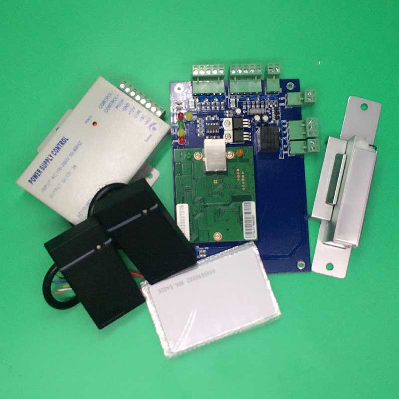 Wiegand One Door Exit Access Control Board Panel for TCP/IP Security System Rfid Slave Reader Fail Secure Strike Lock baron lsn 4301 02