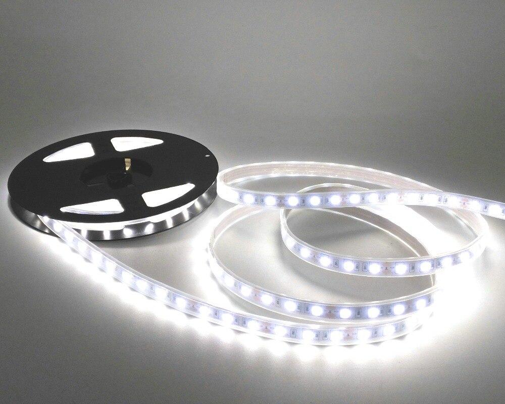 IP67 5050 Tira de LED DC12V 60 LED / M Alta calidad Tubo de silicona - Iluminación LED - foto 5
