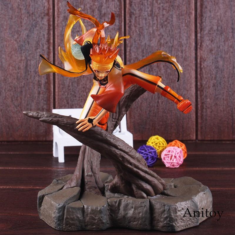 Naruto Shippuden Uzumaki Naruto Figurine Ootutuki Hagoromo Ver. PVC Anime Action Figures Collectible Model Toy with Light 1