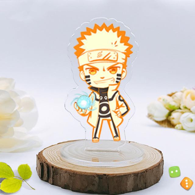 Naruto Keychain Kakashi Gaara Sasuke Akatsuki Accessories 8cm