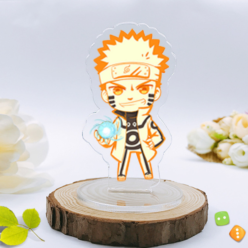 Anime Cartoon Naruto Keychain Kakashi Gaara Sasuke Akatsuki Members Itachi Pendants Keyring Cosplay Accessories Chaveiro 8cm