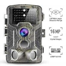 Suntekcam 16MP HC800A Камера Ловушка Охота Камера IP65 Водонепроницаемый Ночное видение дикий Камера s фото ловушка 850nm просмотра Trail Камера