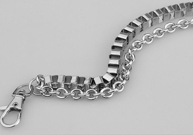 Хип-хоп металлический ремешок Череп Kulian ремень мужской одежды хип-хоп талии брюки цепи