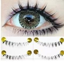 hot sale10pairs hand made fashion low eye lashes false eyelashes natural long thick beauty health makeup
