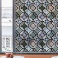 Etiqueta da janela estática Filme Vidro filme janela de vidro manchado decorativo privacidade Decoração Da Sua Casa