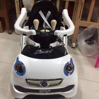 De Goedkoopste Prijs Met Hek Multifunctionele Oplaadbare Rit Op Kinderen Elektrische Auto Putter Combo Speelgoed Met Push Hander