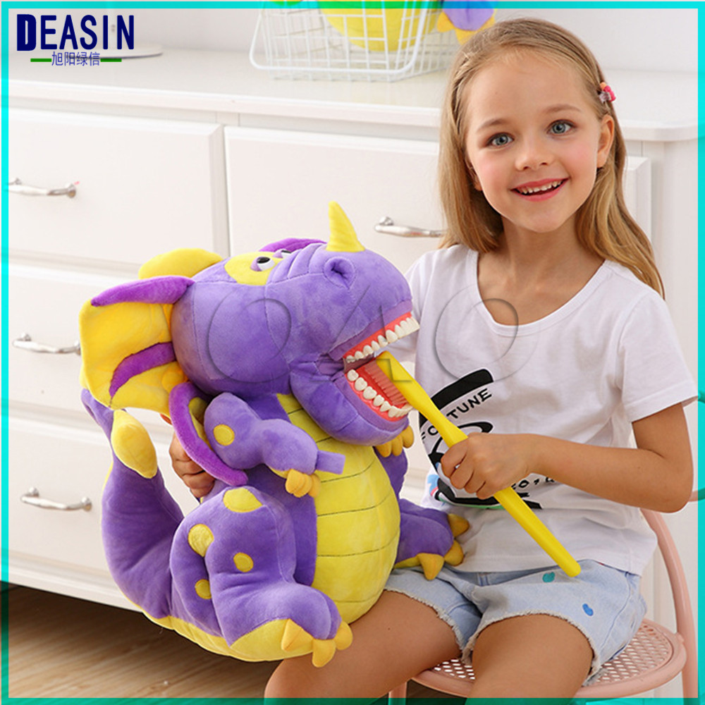New type tooth model Tooth doll early education brushing teeth doll Dental gift creative Dinosaur Lovely animals brushing teeth mr froger carcharodon megalodon model giant tooth shark sphyrna aquatic creatures wild animals zoo modeling plastic sea lift toy
