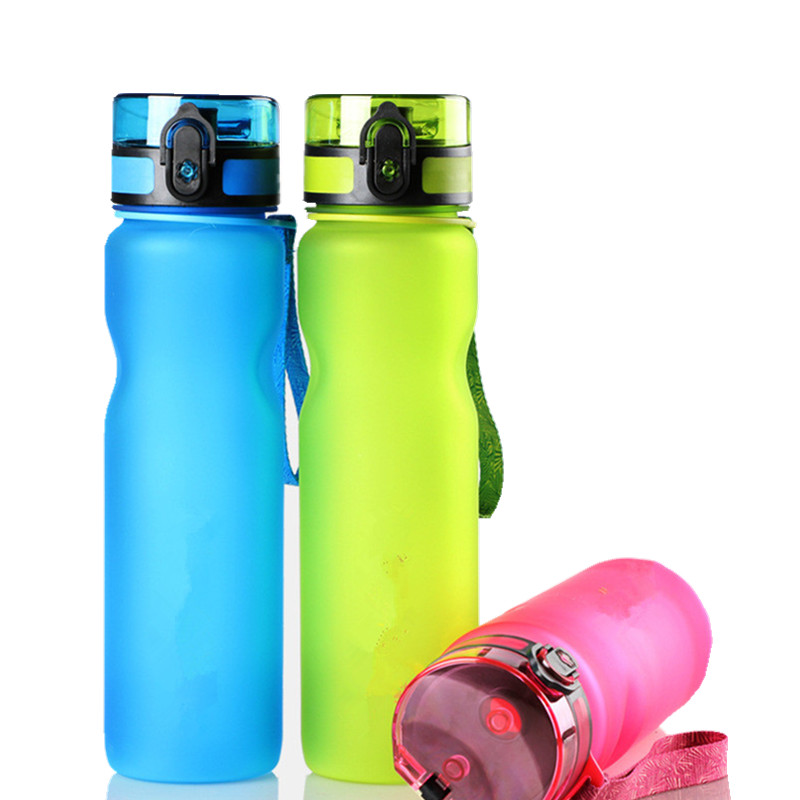 BAP FREE LBPA Free Eco-Friendly Plastic Drinkware  Bottles  FROSTED Space  Outdoor Sport my Water Bottle 1L