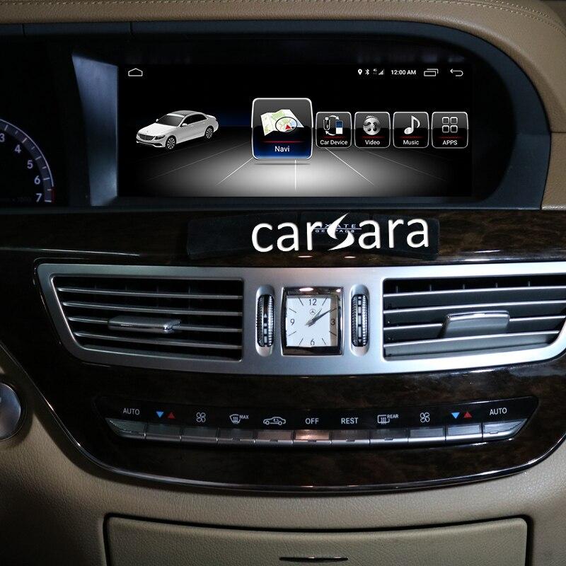 4G RAM Android écran pour S classe W221 2005-2013 10.25 écran tactile GPS Navigation radio stéréo tête unité lecteur multimédia