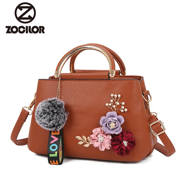 2018 color flowers shell Women s tote Leather Clutch Bag small Ladies  Handbags Brand Women Messenger Bags Sac A Main Femme fb56ebe4aa06f