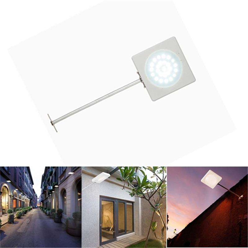 Mising 25LED Microwave Radar Motion Sensor Solar Light 500LM Waterproof Street Outdoor Wall Lamp Security Spot Lighting