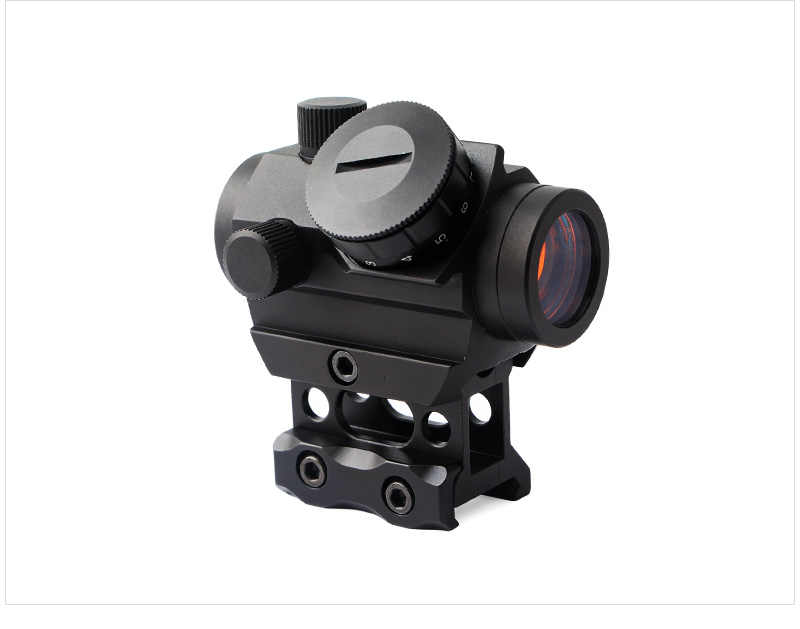 Magorui T1G Red Dot Sight 1X20 מראות רפלקס עם 20mm רכבת הר & להגדיל Riser רכבת הר
