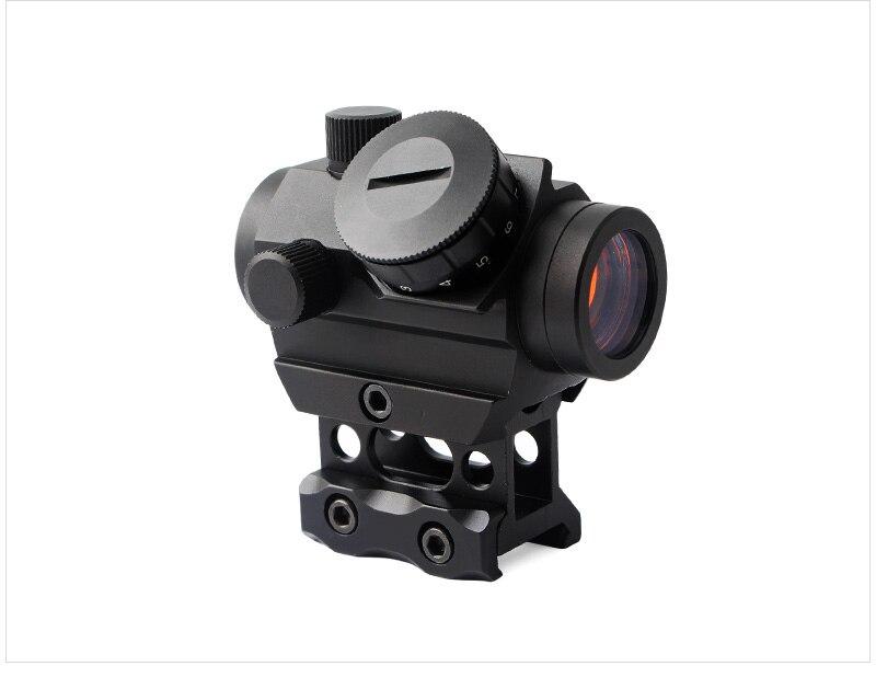 Magorui T1G Red Dot Sight 1X20 Bezienswaardigheden Reflex Met 20mm Rail Mount & Verhogen Riser Rail Mount