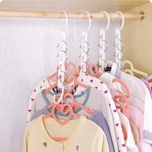 Новое поступление 3D Экономия пространства вешалка cabide вешалка для одежды крючок Новинка Горячая