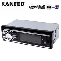 Radio samochodowe Stereo Audio MP3 Player 12 V In-dash Single 1 Din FM Odbiornik Odbiornik USB SD Aux pilot zdalnego Sterowania