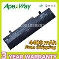 Apexway 6 celdas 4400 mah batería del ordenador portátil para asus eee pc 1001 p 1001px 1005 1005 h 1005 p al31-1005 al32-1005 ml32-1005 pl32-1005