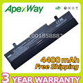 Apexway 6 cell 4400mAh laptop battery for Asus Eee PC 1001P 1001PX 1005 1005H 1005P AL31-1005 AL32-1005 ML32-1005 PL32-1005