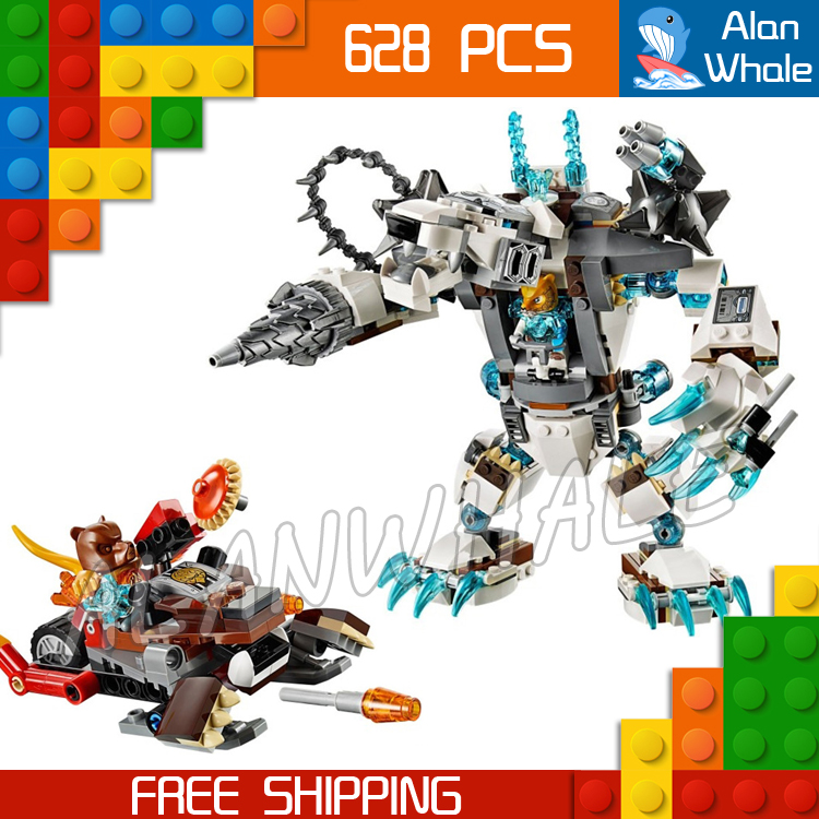 цены  629pcs Bela 10355 Icebites Claw Driller toy building blocks movie Kids Educational Toys Bricks Compatible with Lego
