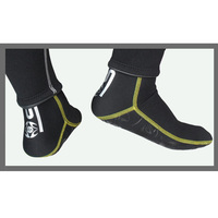 1 Pair SLINX 3mm Neoprene Scuba Diving Socks Snorkeling Fins Swimming Socks Slip Resistant Water Sports
