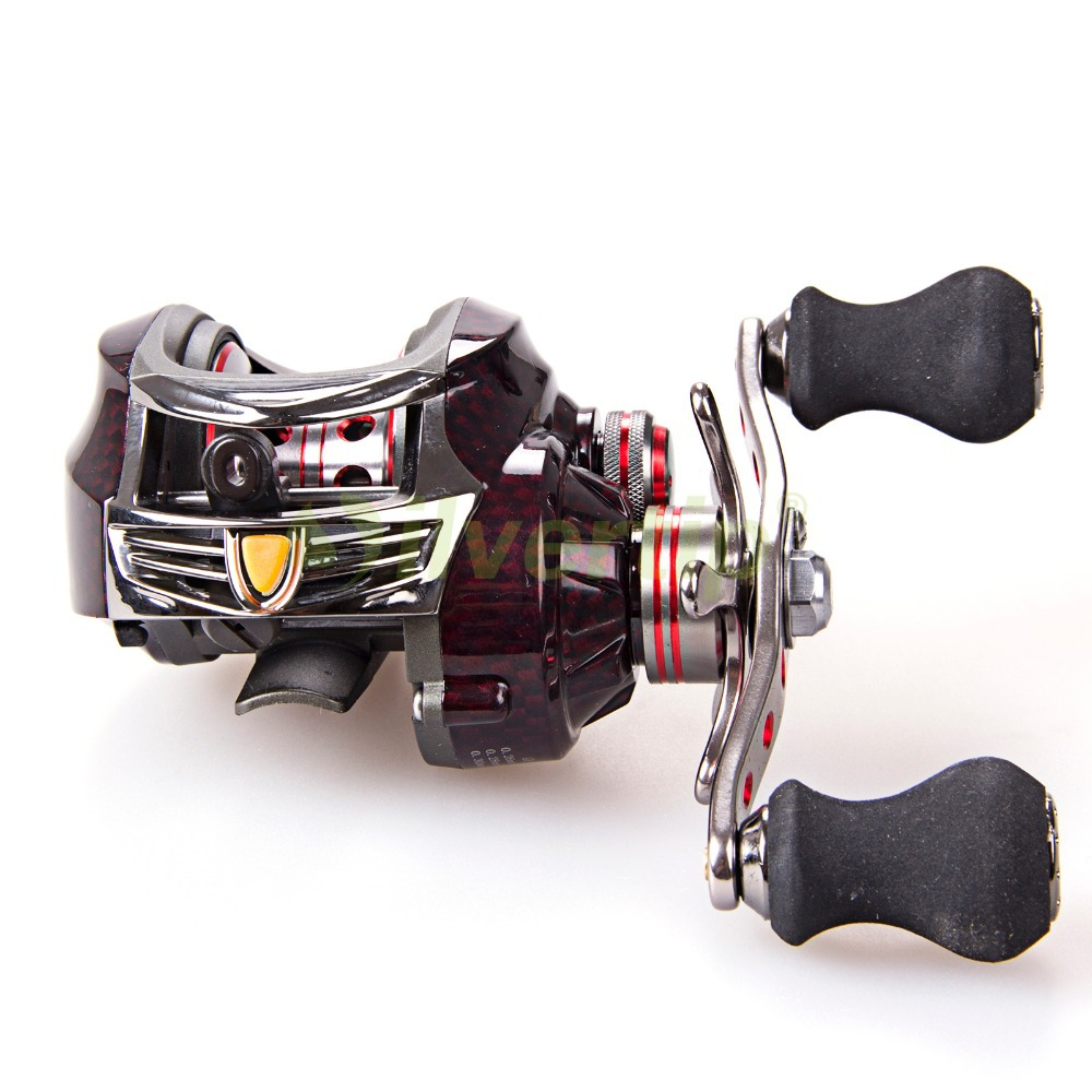 Free Shipping 18+1 BB 7.0:1 Left Hand Handed Saltwater Saltwater Baitcasting Fishing Reel Lure Bait Casting Caster YZ free shipping mx gear ration 6 3 1 10 1 bearings gold baitcasting reel left hand bait casting reel fishing reel