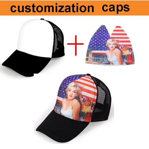 továrna velkoobchod 100ks! poštovné zdarma! dítě dospělé vlastní baseballovou čepici, vlastní trucker cap, plný tisk OK cap hot transfer
