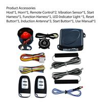 Auto Anti theft Alarm Car Comfortable Keyless Entry One Button Start Remote Control System Automobile Car Accessories