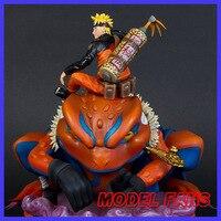 Модели вентиляторов в наличии Uzumaki Naruto GK статуя из смолы для коллекции содержат