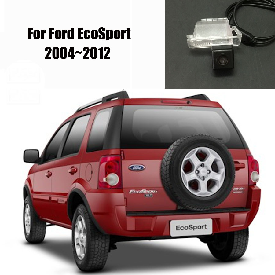 Reverse back up camera parking camera for ford ecosport 2004 2012 hd ccd