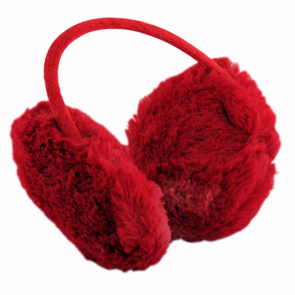 10pcs Autumn and winter warm fur earphones faux fur earmuffs ear headset fashion faux fur head decor multi color to choose