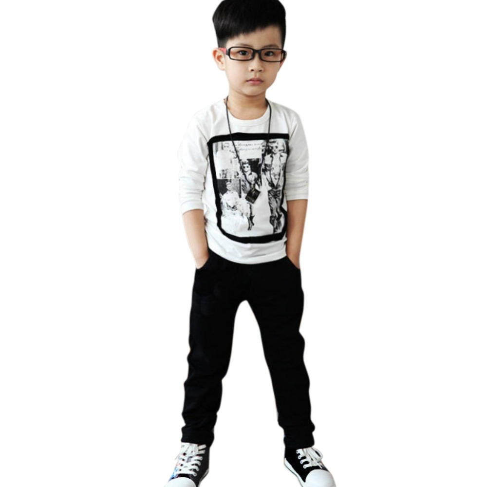 Fashion Kid Clothes Baby Boy Soft Warm Jeans Casual Cotton Jeans Slim Pants 2-7Y