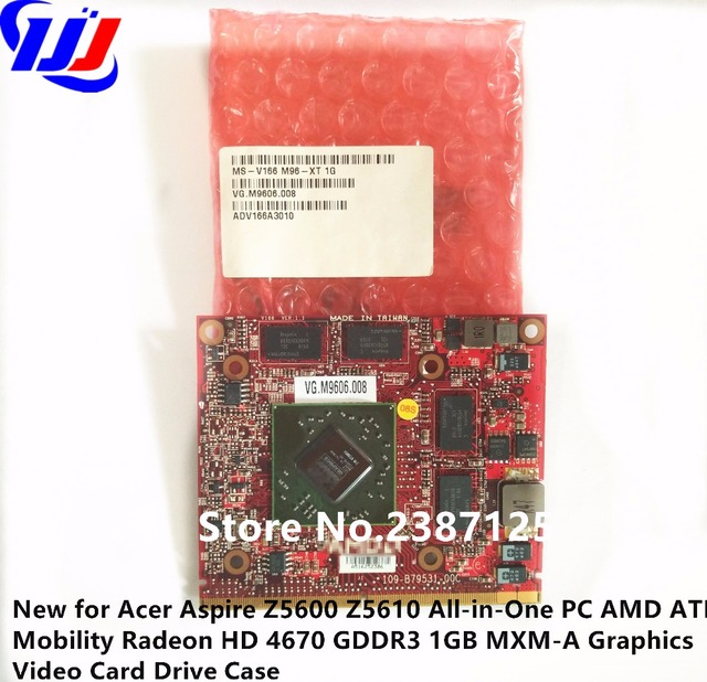New For A C E R Aspire Z5600 Z5610 All In One Pc M D T I Mobility Radeon